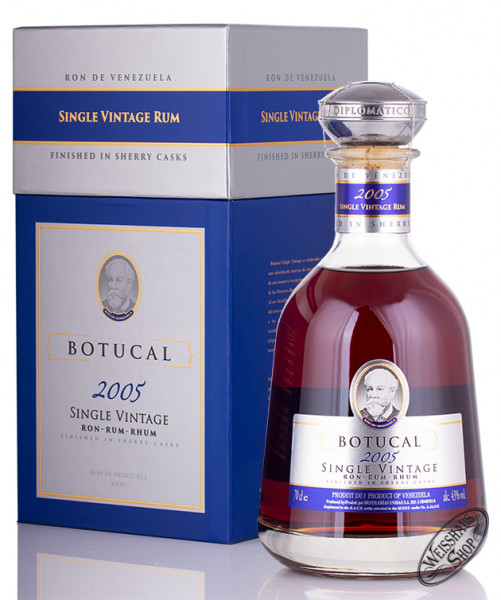 Botucal Single Vintage 2005 Rum 43% vol. 0,70l