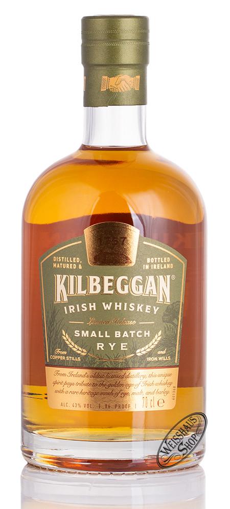 Kilbeggan Small Batch Rye Whiskey 43% vol. 0,70l