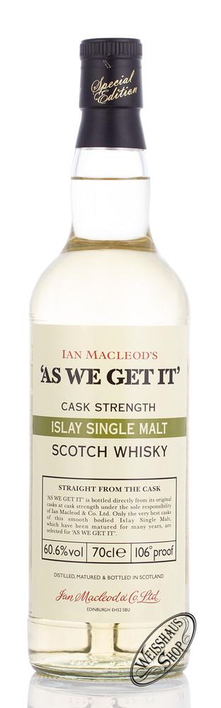 Ian McLeod McLeod As We Get It! Islay Single Malt Whisky 60,6% vol. 0,70l