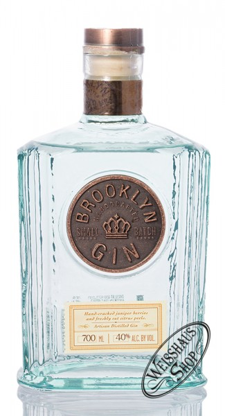 Brooklyn Gin 40% vol. 0,70l
