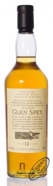 Glen Spey 12 YO Flora & Fauna Whisky 43% 0,70l