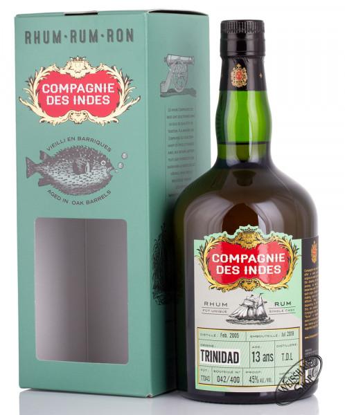 Compagnie des Indes Trinidad 13 YO Rum 45% vol. 0,70l