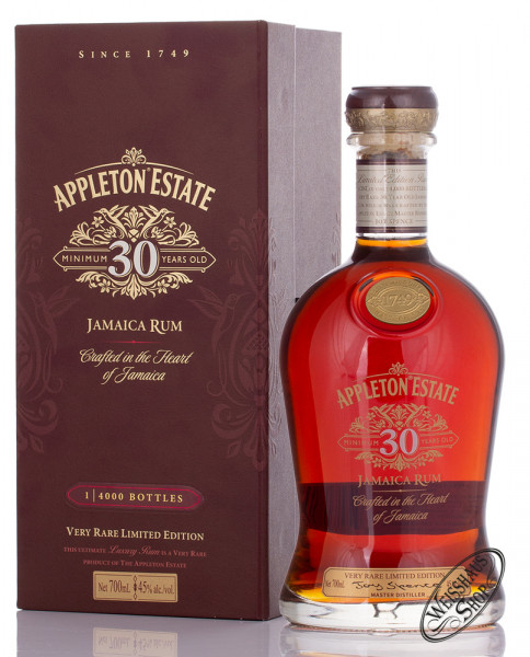 Appleton Estate 30 YO Jamaica Rum 45% vol. 0,70l