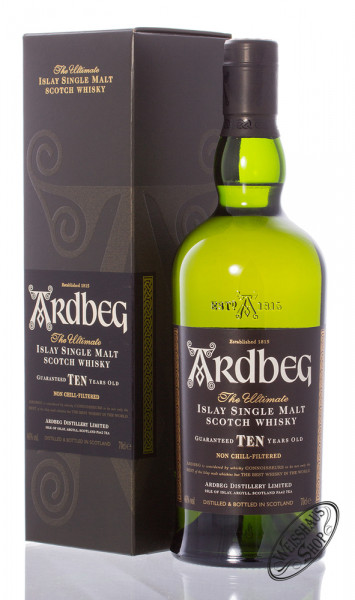 Ardbeg Ten 10 YO Islay Single Malt Whisky 46% vol. 0,70l