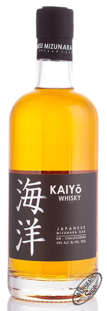 KAIYO Signature Japanese Mizunara Oak Whisky 43% vol. 0,70l