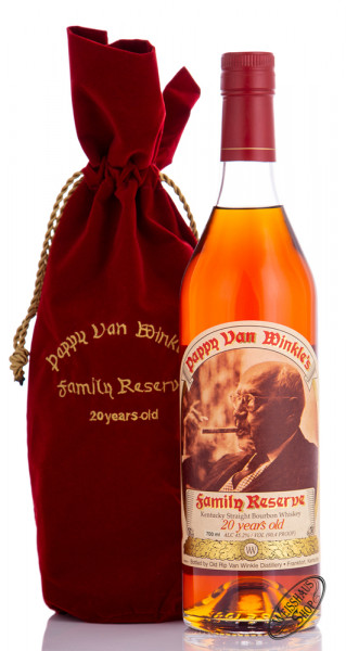 Pappy van Winkle 20 YO Kentucky Straight Bourbon 45,2% vol. 0,70l