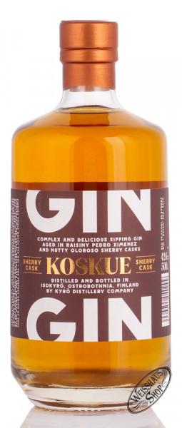 Kyrö Koskue Sherry Cask Gin 42,6% vol. 0,50l