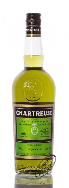 Chartreuse Grün Kräuterlikör 55% vol. 0,70l