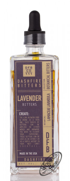Dashfire Lavander Bitters 38% vol. 0,10l