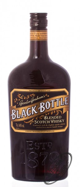 Black Bottle Whisky Blend 40% vol. 0,70l