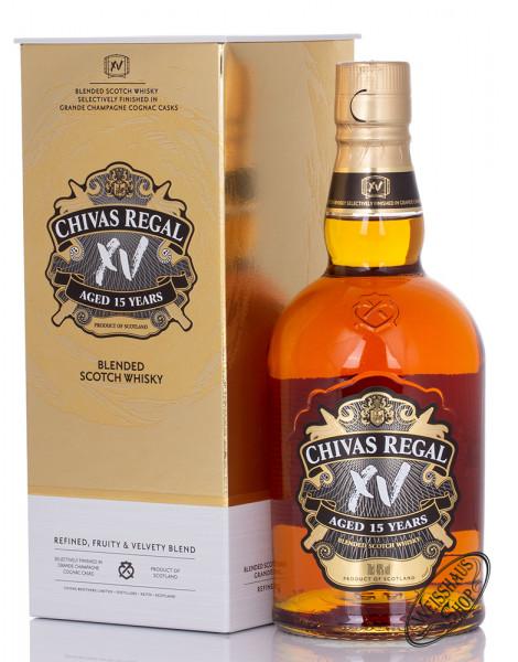 Chivas Regal VX 15 YO Blended Whisky 40% vol. 0,70l