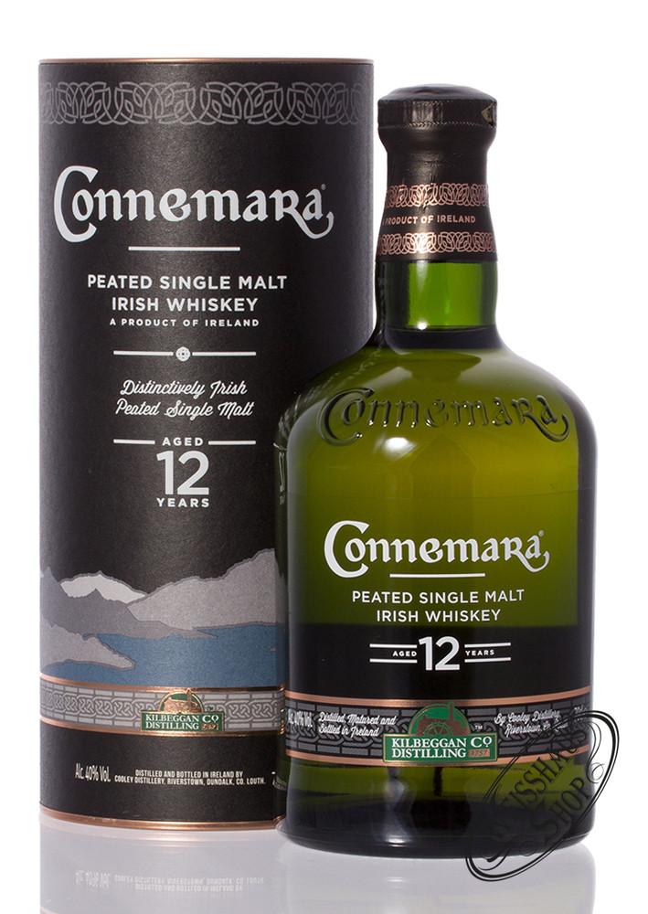 Connemara 12 YO Peated Irish Whiskey 40% vol. 0,70l