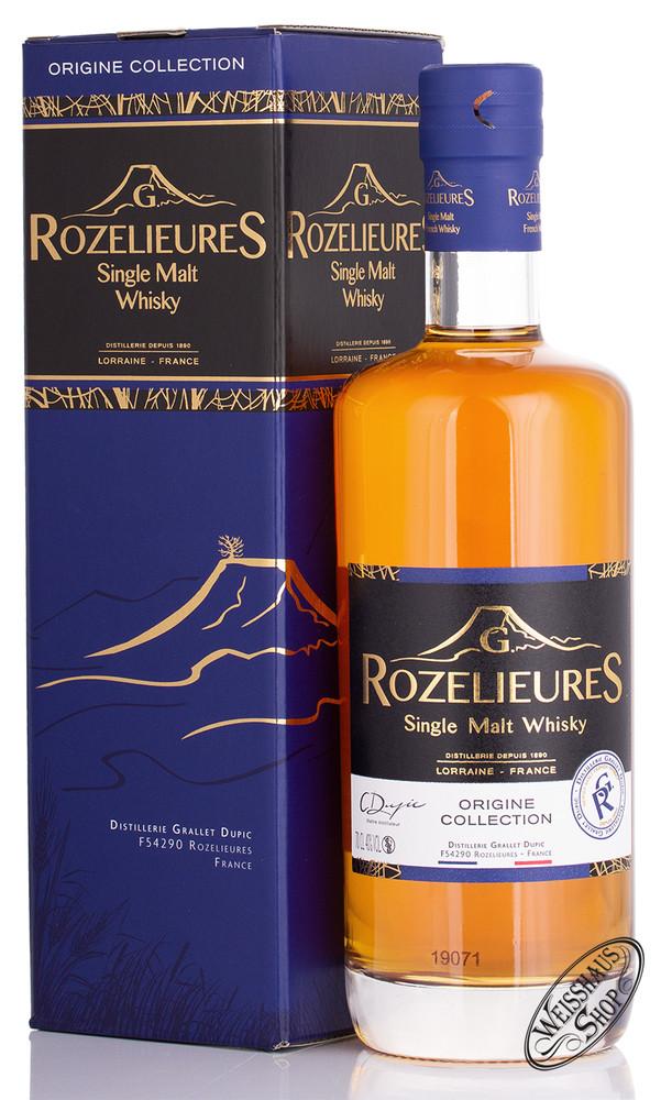Pierre Ferrand Rozelieures Origine Collection Single Malt Whisky 40% vol. 0,70l