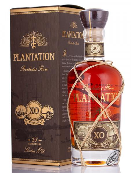 Plantation Barbados X.O. Rum 20th Anniversary 40% vol. 0,70l