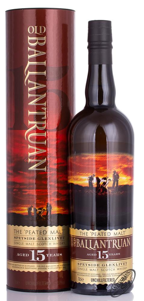 Tomintoul Old Ballantruan 15 YO Single Malt Whisky 50% vol. 0,70l