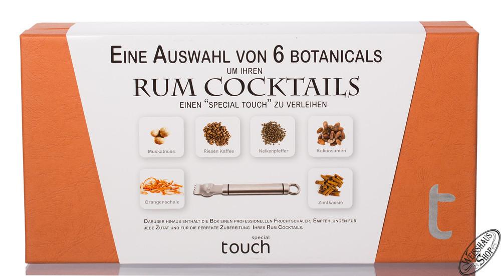 Special Touch Rum Botanicals Box