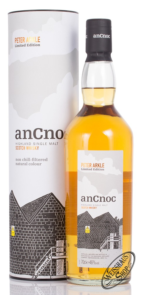 AnCnoc Peter Arkle Edition 4 Warehouse Whisky 46% vol. 0,70l