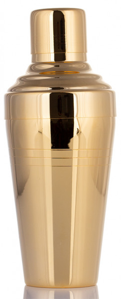 Urban Bar Baron Yukiwa Shaker Gold Plated 500ml