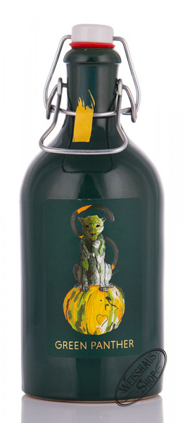 Green Panther Kürbiskernlikör 16% vol. 0,50l