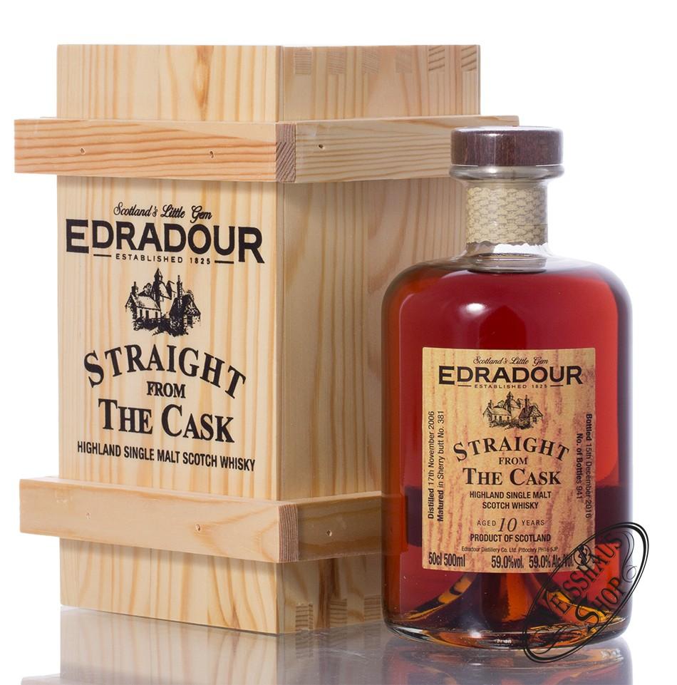 Edradour 2006 SFTC Sherry Cask Whisky 59% vol. 0,50l