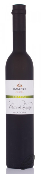 Walcher Grappa Chardonnay 40% vol. 0,50l