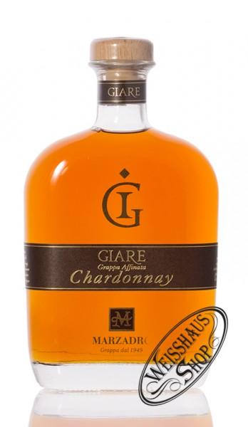 Marzadro Grappa Le Giare Chardonnay 45% vol. 0,70l