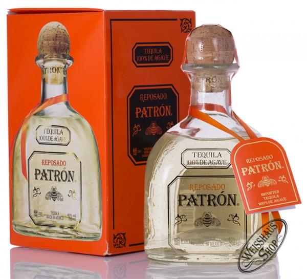 Patron Reposado Tequila 40% vol. 0,70l