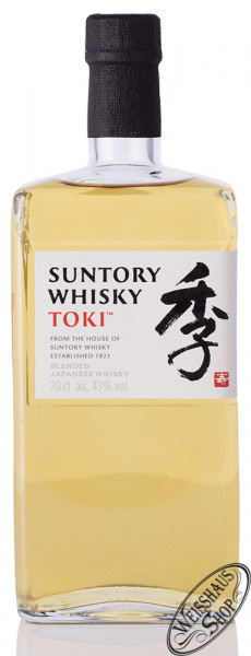 Suntory Toki Japanese Whisky 43% vol. 0,70l