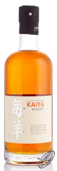 KAIYO Cask Strength Japanese Mizunara Oak Whisky 53% vol. 0,70l