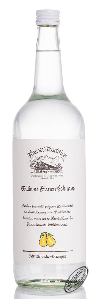 Hauser Williams Birnen Schnaps 35% vol. 1,0l