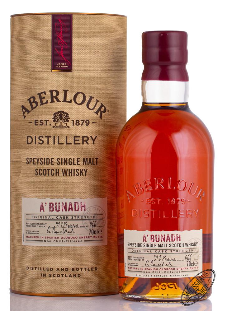 Aberlour A'Bunadh Batch No. 66 Whisky 59,2% vol. 0,70l
