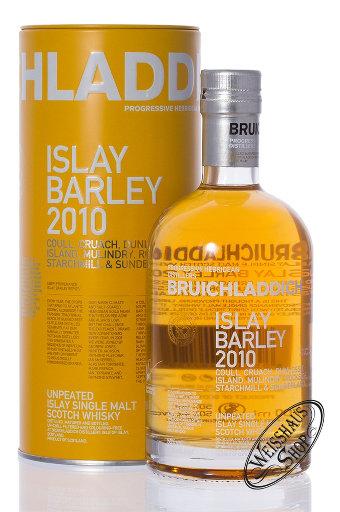 Bruichladdich Islay Barley 2010 Islay Whisky 50% vol. 0,70l
