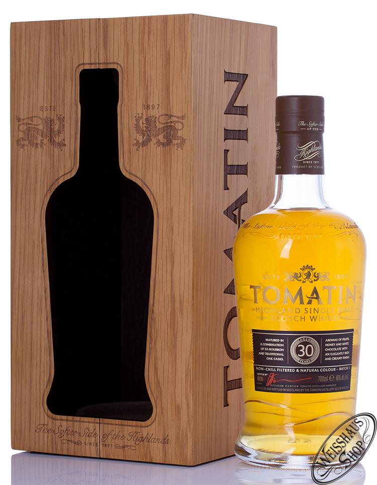 Tomatin 30 YO Single Malt Whisky 46% vol. 0,70l