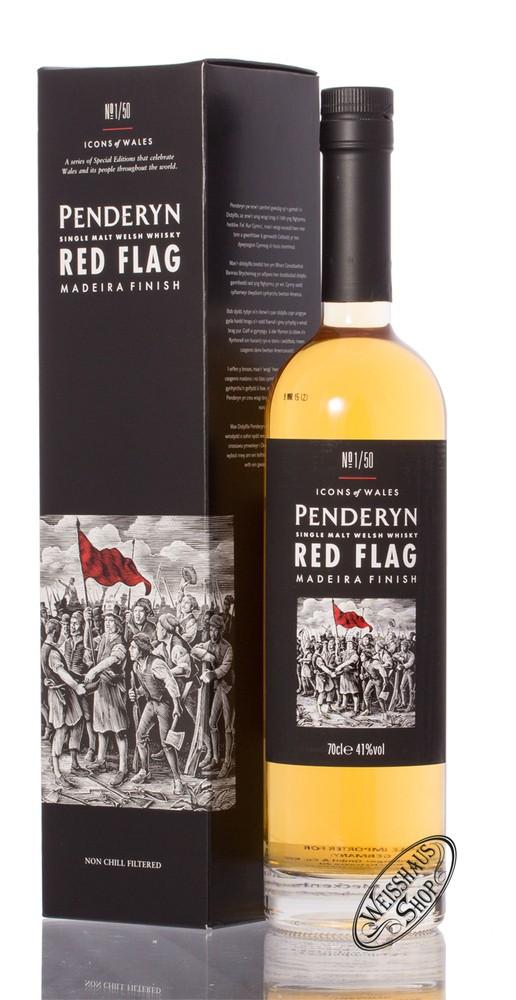 Penderyn Red Flag Single Malt Whisky 41% vol. 0,70l