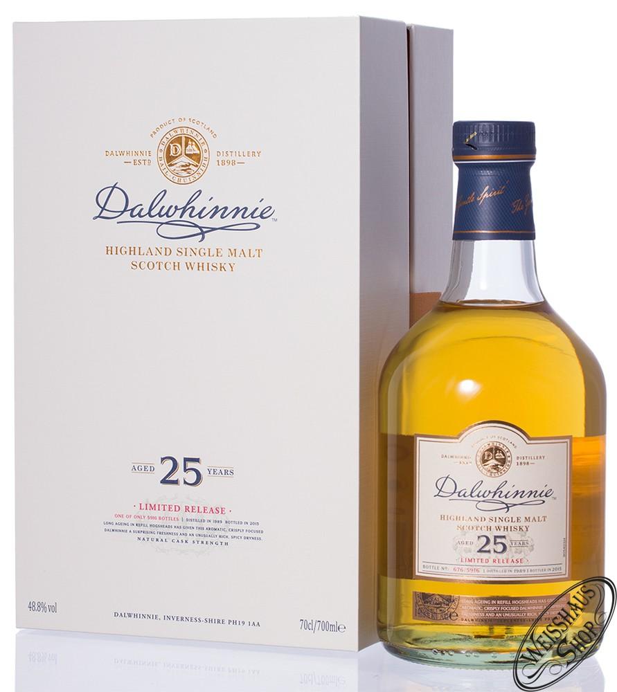 Dalwhinnie 25 YO SR 2015 Whisky 48,8% vol. 0,70l