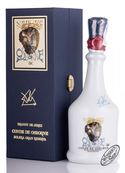 Osborne Brandy Botella Dali 40,5% vol. 0,70l