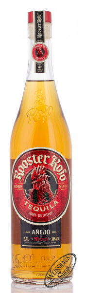 Rooster Rojo Tequila Anejo 38% vol. 0,70l