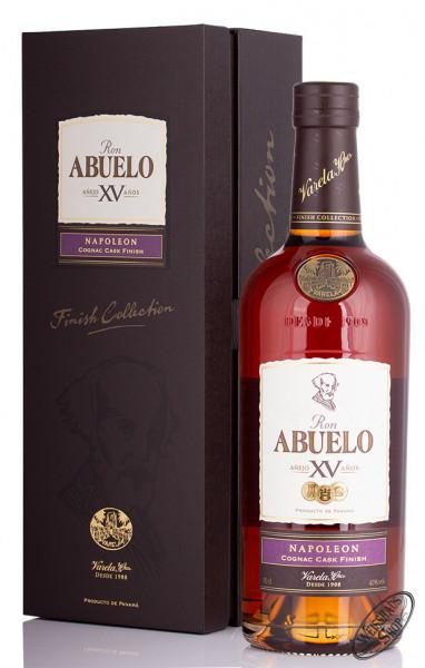 Ron Abuelo XV Napoleon Cognac Cask Finish Rum 40% vol. 0,70l