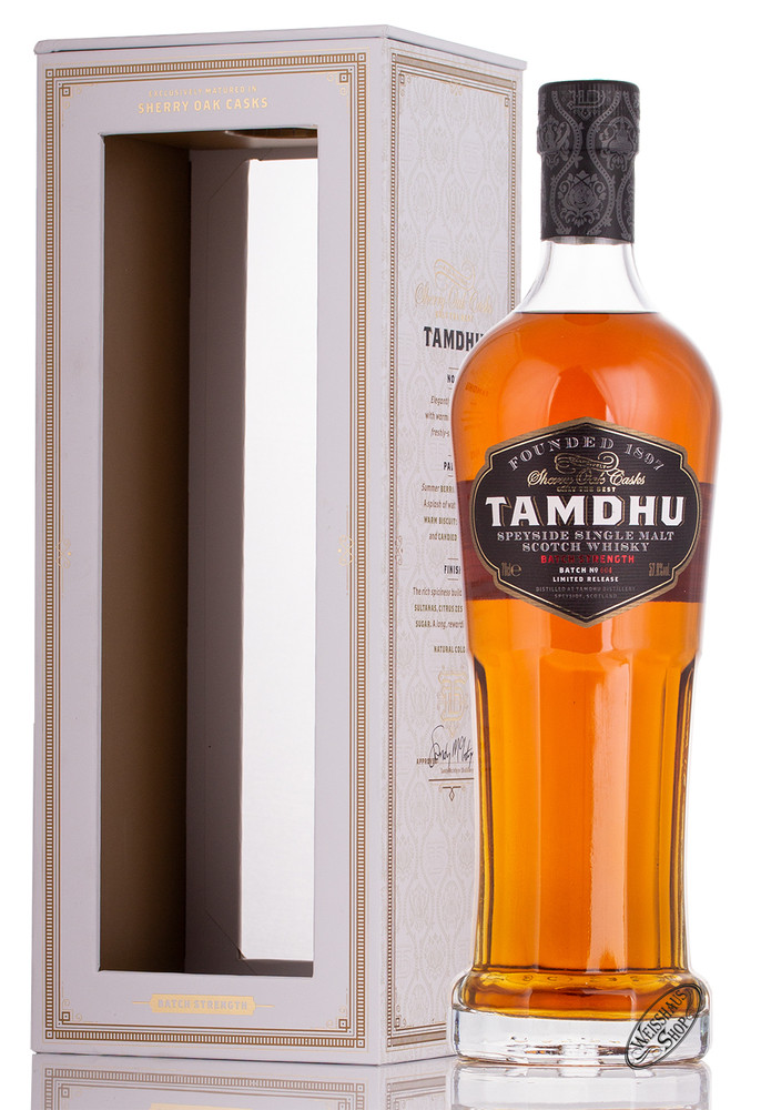 Tamdhu Batch Strength Batch 4 Whisky 57,8% vol. 0,70l