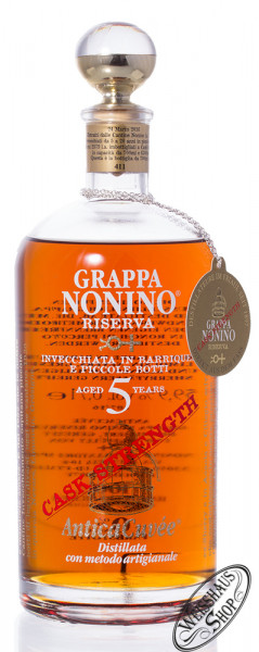 Nonino Grappa AnticaCuvée Cask Strength 59,9% vol. 0,70l