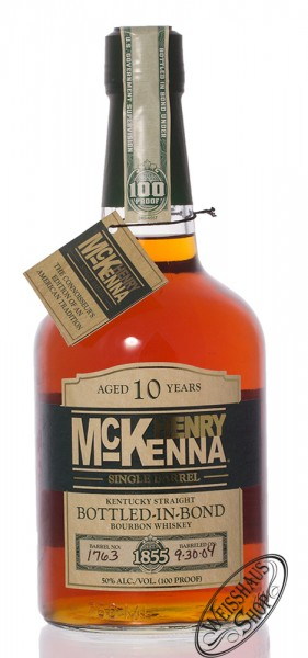 Henry McKenna 10 YO Bourbon Whiskey 50% vol. 0,70l