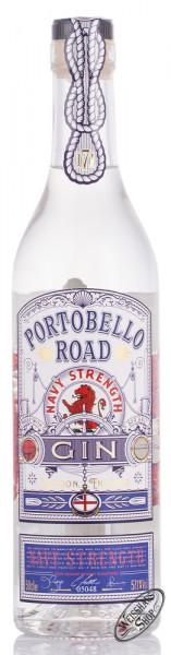 Portobello Road Navy Strength Gin 57,1% vol. 0,50l