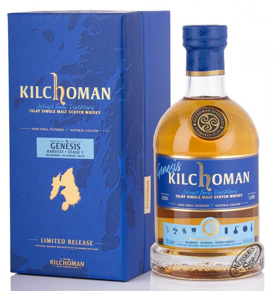 Kilchoman Genesis Harvest Stage 1 Whisky 48,6% vol. 0,70l