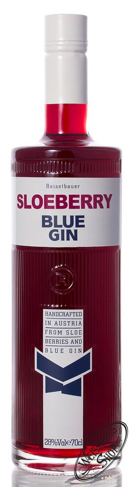 Reisetbauer Sloeberry Blue Gin 28% vol. 0,70l