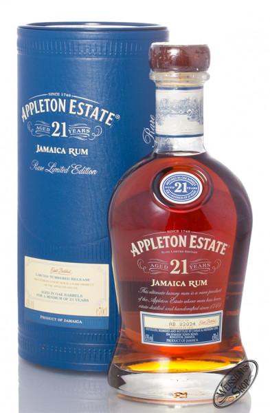 Appleton Estate 21 YO Jamaica Rum 43% vol. 0,70l