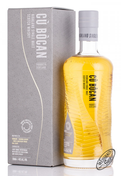 Tomatin Cú Bócan Signature Highland Whisky 46% vol. 0,70l