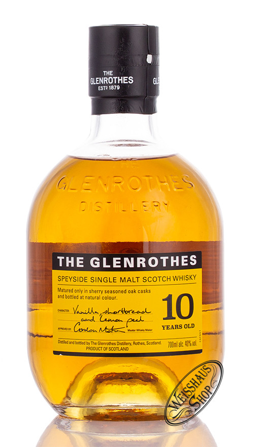 The Glenrothes 10 YO Whisky 40% vol. 0,70l