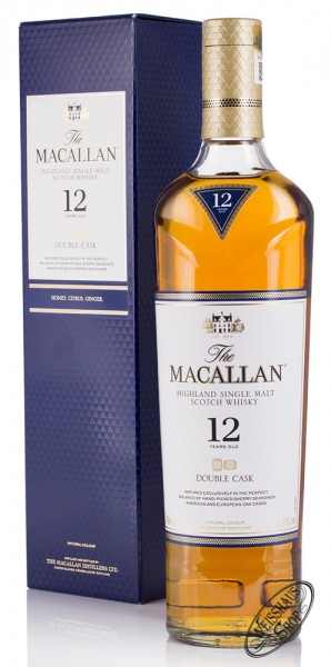 Macallan 12 YO Double Cask Triologie Whisky 40% vol. 0,70l