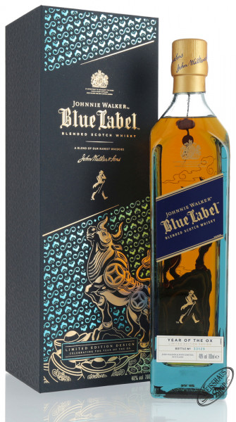 Johnnie Walker Blue Label Chinese New Year Whisky 40% vol. 0,70l