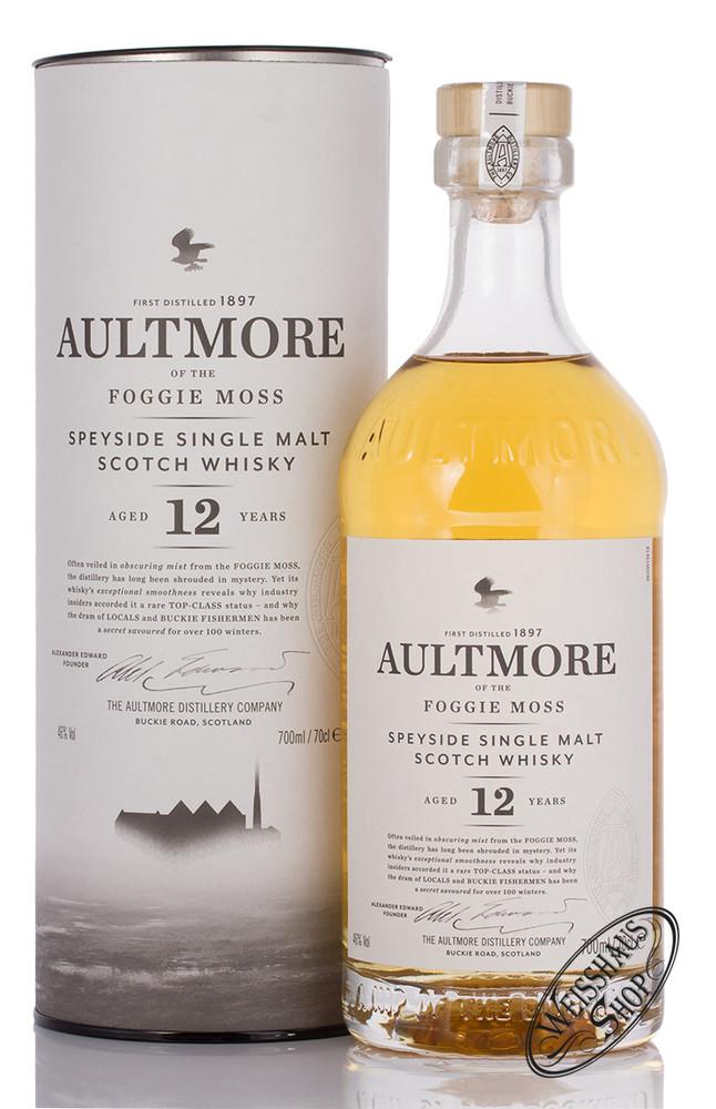 Aultmore 12 YO Single Malt Whisky 46% vol. 0,70l